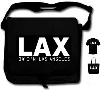 LAX Black with White